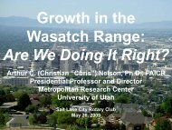 to download Presentation - University of Utah Graduate School of ...