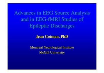 16:20-16:40 New developments of EEG in clinical practice