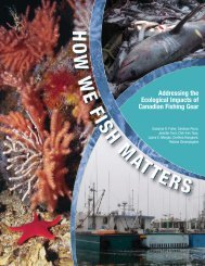 How We Fish Matters - Marine Conservation Biology Institute