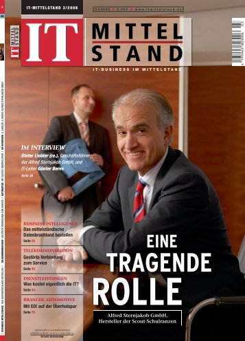 IM INTERVIEW - Alfred Sternjakob GmbH