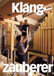 Ganzseitiger Fotoausdruck - Orgelbau Klais Bonn