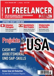42 it Freelancer magazin 05|2009