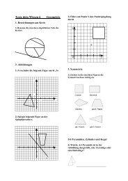 Teste dein Wissen 6 Geometrie - Evangelisches Gymnasium ...