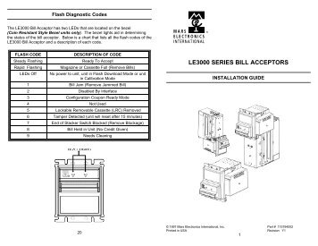 ict bill acceptor manual