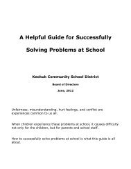 A Helpful Guide for Successfully Solving Problems at School Keokuk ...