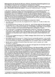 badische Landeskirche - Dienst für Mission, Ökumene und ...