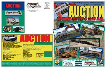 Complete Liquidation - United Auctioneers