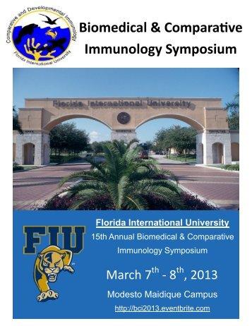 2013 FIU BCI Flyer - Florida International University