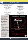 december 2011 Newsletter web2 - Sir Joseph Williamson's ... - Page 6