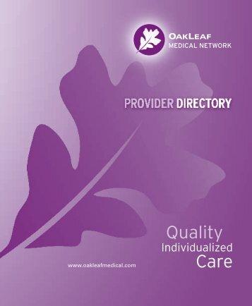 Download Directory - OakLeaf Medical Network