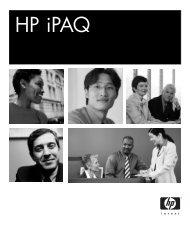 HP iPAQ [PDF] - O2
