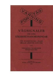 broschyr med information för vägfarande