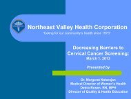 to View Presentation 2 - Community Clinic Association of Los ...