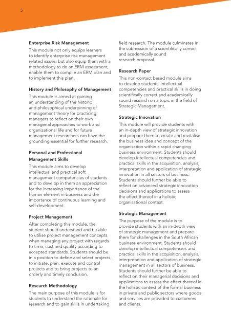 5 Enterprise Risk Managem