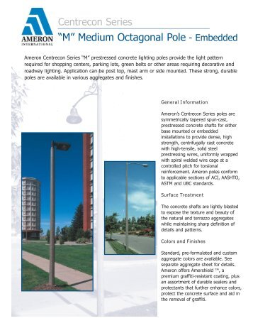 PPD Catalog 2004.qxd - Ameron's Pole Products