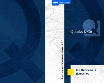 Big Brother is watching (PDF) - Wdr.de