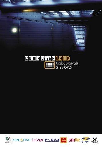 ComputerLand katalog proizvoda zima 2004/05