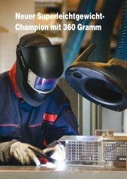Neuer Superleichtgewicht- Champion mit 360 Gramm - RTM ...