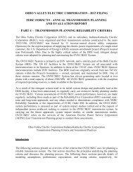 Transmission Planning Reliability Criteria