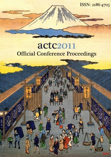 Please click here to download the conference proceedings - IAFOR