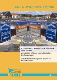 ECTL Working Paper - Institut für Verkehrsplanung und Logistik der ...