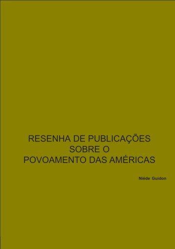 Resenha de publicações - Fundação Museu do Homem Americano