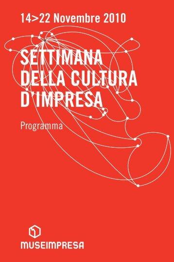 Scarica il programma generale - Fondazione Pirelli