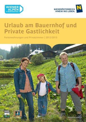 PDF downloaden - Wiener Alpen