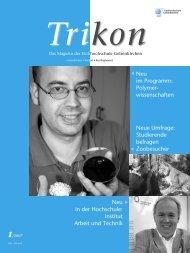 Ausgabe 1/2007 - TRIKON