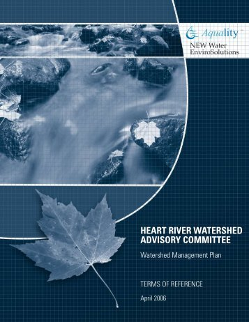 Heart River Watershed Management Plan Draft Terms of Reference