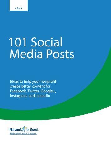 NFG 101 Social Media Posts