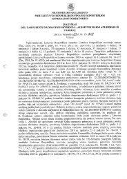 išvada ir įsakymas - Lietuvos Respublikos muitinė
