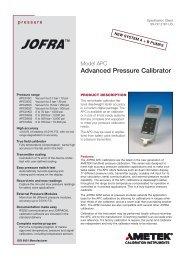 Advanced Pressure Calibrator