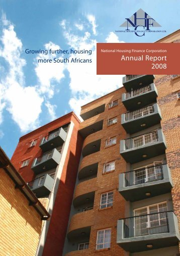 Annual Report 2008 - National Housing Finance Corporation
