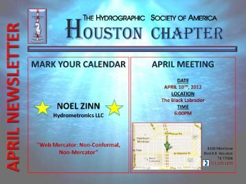 April - Houston Chapter