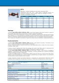 Contatori volumici a turbina multigetto Serie ... - WATTS industries - Page 3