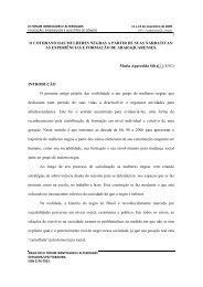 O COTIDIANO DAS MULHERES NEGRAS A PARTIR DE SUAS ...