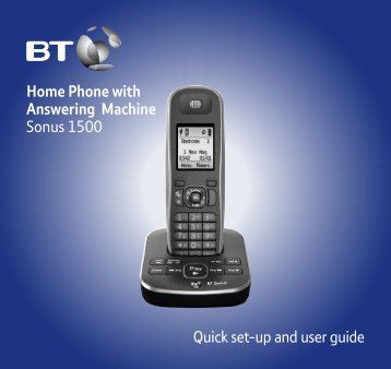 Sonus 1500 User Guide - Telephones Online Reviews