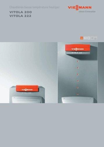Chaudi re fioul condensation vitoradial 300 t viessmann for Chaudiere basse temperature fioul