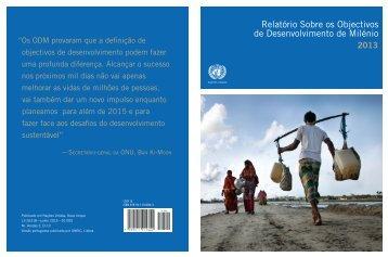 Relatório sobre os Objectivos de Desenvolvimento do ... - Unric