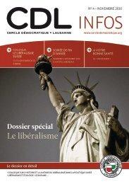 Bulletin no. 4/10 – Novembre 2010 - Cercle Démocratique Lausanne