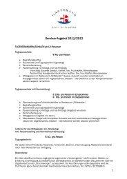 Seminar-Angebot 2011/2012 - Stift St. Florian