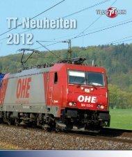 TT-Neuheiten 2012 - JR Line