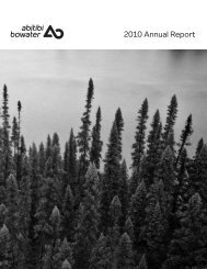 2010 Annual Report - Resolute Forest Products