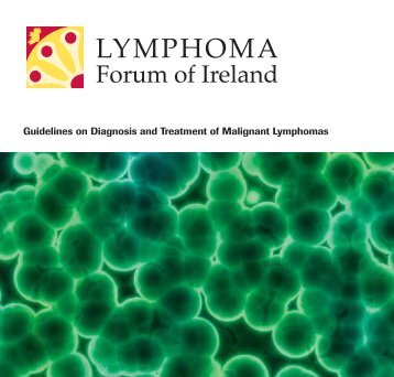 Guidelines on Diagnosis and Treatment of Malignant Lymphomas