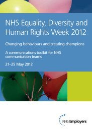 NHS Equality, Diversity and Human Rights Week ... - NHS Employers