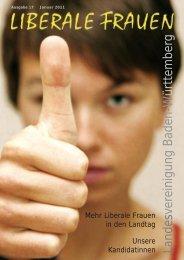 LIBERA 2011 Januar - Bundesvereinigung Liberale Frauen e.V.