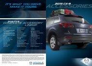 2013 Accessories Brochure - Mazda