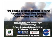 Fire Smoke Injection Heights in North America: A View from Satellite ...