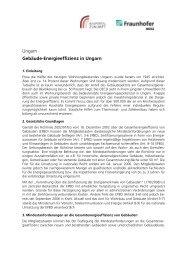 Ungarn Gebäude-Energieeffizienz in Ungarn - ECOLISH